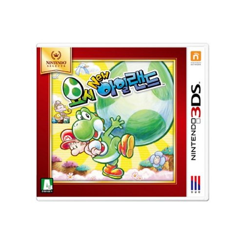 3DS 요시 뉴 아일랜드(Nintendo Selects)